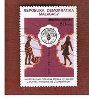 MADAGASCAR -  SG 465 -   1982  WORLD FOOD DAY   -  USED° - Madagascar (1960-...)