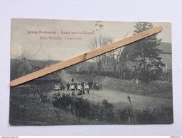 """JALHAY-HERBIESTER """" Route Vers La Gileppe """" Trés Animée Édit Wayaffe , Trois-Ponts . - Jalhay"""