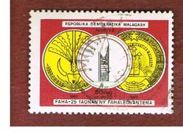 MADAGASCAR -  SG 550   -   1985 INDEPENDENCE ANNIVERSARY  -  USED° - Madagascar (1960-...)