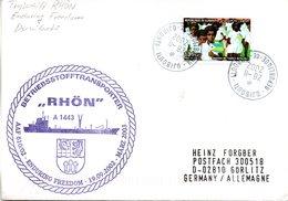 "(FC-13) BETRIEBSSTOFFTRANSPORTER ""RHÖN"" A1443 ""AAF 610/02 ENDURING FREEDOM"" EF DJIBOUTI TSt DJIBOUTI 28.II.2002 - Ships"