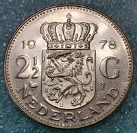 Netherlands 2½ Gulden, 1978 -0681 - [ 3] 1815-… : Koninkrijk Der Nederlanden