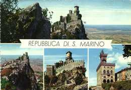REPUBBLICA DI S .MARINO  Multivues RV  BEAUX TIMBRES - San Marino