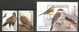 KOSOVO 2019,EUROPA CEPT,NATIONAL BIRDS,BLOCK,MNH - 2019