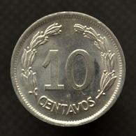 Ecuador 10 Centavos 1937. Km76. UNC. South America Coin. - Ecuador