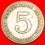 + USA (1961-1993): PANAMA ★ 5  CENTESIMOS 1982! LOW START ★ NO RESERVE! - Panama