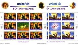 UNO GENF Mi-Nr. 301-302 ** KLEINBOGENSATZ UNICEF MÄRCHEN LEGENDEN - Märchen, Sagen & Legenden