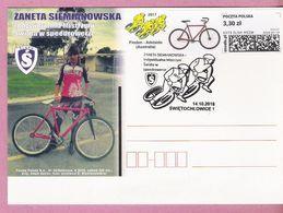 Poland 2018, Postcard, SWIETOCHLOWICE.,sport,cycling Cyclisme Bike Velo, Speedbike, LIMITED EDITION - Cycling