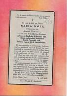 MARIA MOLS- -GEEL- - Décès