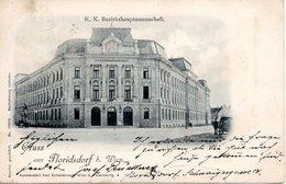 FLORIDSDORF, K.u.K, Bezirkshauptmannschaft, Kunstanstalt Schwidernoch Wien, Karte Nr. 17.576, 25.9.1899 - Ohne Zuordnung