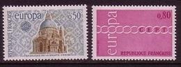 FRANKREICH MI-NR. 1748-1749 POSTFRISCH EUROPA 1971 - KETTE - Europa-CEPT