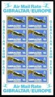 GIBRALTAR MI-NR. 371 ** KB - GIBRALTAR AUS DEM WELTRAUM - Gibraltar