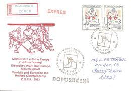 1992 Championnats Du Monde Et D'Europe De Hockey Sur Glace:Bratislava ;recommandée - Hockey (sur Glace)