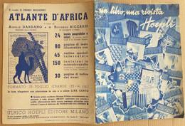 CATALOGO ULRICO HOEPLI MILANO -EDIZ. DICEMBRE 1936 (10819) - Libri, Riviste, Fumetti