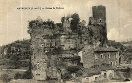 GAVAUDUN RUINES DU CHATEAU - France