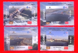 UGANDA 2019 New Stamps Set Issue Inauguration Isimba Hydro Plant  OUGANDA - Oeganda (1962-...)