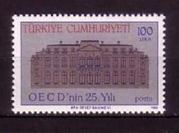 TÜRKEI MI-NR. 2754 ** OECD GEBÄUDE PARIS - 1921-... República