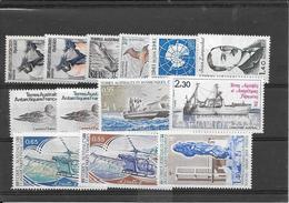 T.A.A.F:petit Lot N°2-3-12-13-91-92-93-94-95-96-97-98-100** Cote 15,30€ - Tierras Australes Y Antárticas Francesas (TAAF)
