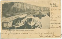 Marche-les-Dames 1900; Le Barrage De Beez Et Les Rochers - Voyagé. (Nels - Bruxelles) - Namur