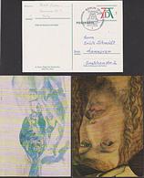 Albrecht Dürer Germay BRD PSo3  5 Ganzsachen-Karten Selbstbildnis Engelsmesse Rosenkranzfest - BRD