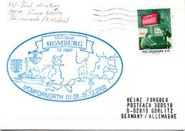 """(FC-13) MiJ-Boot """"HOMBURG"""" M1069 """"MCMFORNORTH 01.08.-31.12.2002 - DÄNEMARK"""" EF Dänemark TSt 08.12.02 - Ships"""