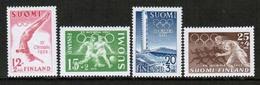 1951-2 Finland, Olympics In Helsinki Complete Set MNH - Sommer 1952: Helsinki