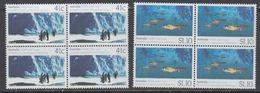 Australia 1990 Antarctica / Joint Issue With USSR  2v Bl Of 4 ** Mnh (44261) - Australisch Antarctisch Territorium (AAT)