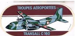 Transport Aviation Militaire Autocollant Transall C160   Ade2 - Autocollants