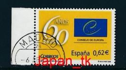 SPANIEN Mi. Nr.  4406 60 Jahre Europarat - Europa Mitläufer - 2009 - Used - Europa-CEPT