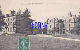 CPA De  LA HAYE PESNEL  (50) -  Environs CHATEAU De LA LUCERNE - France