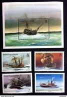 # British Virgin Islands 1987**Mi.585-89  Ships , MNH [21;21] - Schiffe