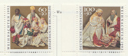 PIA  -  GERMANIA  -  1992  : Natale - Opere Dello Scultore Franz Maidburg  -  (Yv  1471-72) - Scultura