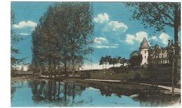 Cerizay ; Paysage Sur La Sèvre Au Château D'Appel-Voisin - Cerizay
