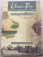 UOMINI E TERRA VICENDE DI COMUNITà EDIZ. 1989(10819) - Libri, Riviste, Fumetti