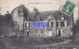 CPA De  LA HAYE PESNEL  (50) -  CHATEAU Des PESNEL - France