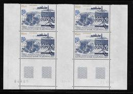 T.A.A.F.  ( TAPA - 390 )  1987  N° YVERT ET TELLIER  N° 98   N**  COIN DATE - Tierras Australes Y Antárticas Francesas (TAAF)