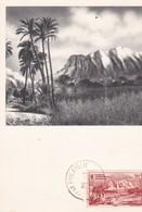 PS / Carte Maximum 10x15 PUB Labo LA BIOMARINE Série A.O.F. (IV) NIGER Les Hauts Du Niger - Advertising