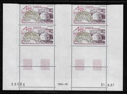 T.A.A.F.  ( TAPA - 396 )  1988  N° YVERT ET TELLIER  N° 102   N**  COIN DATE - Tierras Australes Y Antárticas Francesas (TAAF)