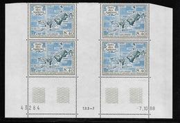 T.A.A.F.  ( TAPA - 397 )  1989  N° YVERT ET TELLIER  N° 103   N**  COIN DATE - Tierras Australes Y Antárticas Francesas (TAAF)