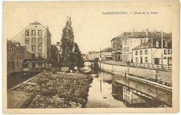 CPA SARREBOURG - Quai De La Sarre - Sarrebourg