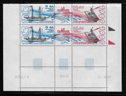 T.A.A.F.  ( TAPA - 399 )  1989  N° YVERT ET TELLIER  N° 105/106   N**  COIN DATE - Tierras Australes Y Antárticas Francesas (TAAF)