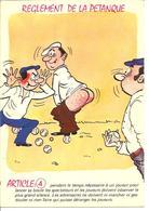 HUMOUR - LES BOULES - REGLEMENT DE LA PETANGE - Article 4 - Humor