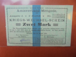 MENGEDE 2 MARK 1914 - [ 2] 1871-1918 : Duitse Rijk