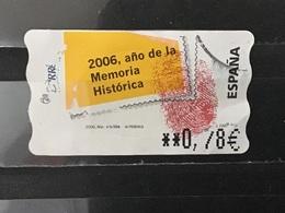Spanje / Spain - Automaatzegel, Memoria Historica (0.78) 2006 - 1931-Tegenwoordig: 2de Rep. - ...Juan Carlos I