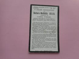 D.P.-BARBARA-MATHILDIS DELEU°STADEN 20-4-1861+ALDAAR 3-1-1922 - Religion &  Esoterik
