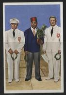 WW II Franck Sammelbild 10,5 X 7 Cm , Olympiade 1936 Berlin, S.19 Bild 5 : Sport , Gewichtheben Mittelgewicht,Rudi Ism - Olympische Spiele
