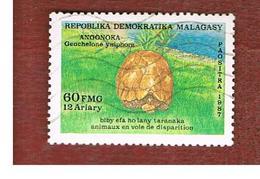MADAGASCAR -  SG 608  -   1987  ENDANGERED ANIMALS: TORTOISE  -  USED° - Madagascar (1960-...)