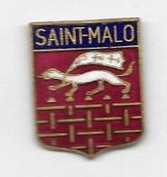 Pin's  Ville  SAINT - MALO  ( 35 ) - Villes