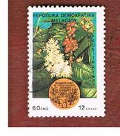 MADAGASCAR -  SG 619  -   1987  AFRICAN COFFEE ORGANIZATION   -  USED° - Madagascar (1960-...)