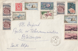 Enveloppe   NOUVELLE  CALEDONIE      NOUMEA   1963 - Briefe U. Dokumente