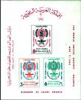 6740B) Saudi Arabia 1962 ** Bl.4 Malaria Insetti Insects Who- MNH** - Arabia Saudita